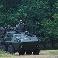 The Pandur Recce Vehicle In Use by Luc De Jaeger