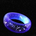 Torus Universe, Artwork by Mehau Kulyk