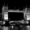 Tower Bridge At Night by David Pyatt
