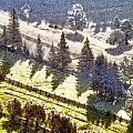 Transylvania Landscape by Odon Czintos
