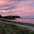 Twilight After A Sunset At A Beach by Ulrich Schade