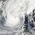 Typhoon Megi by Stocktrek Images