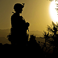 U.s. Army Sergeant Provides Security by Stocktrek Images