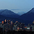 Vancouver City Twilight Panorama by Pierre Leclerc Photography