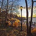 View From Battery Park City by Theodore Jones