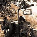 Vintage Machinery by Gaspar Avila
