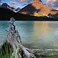 Waterfowl Lake by Ginevre Smith