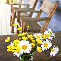 Wildflowers Bouquet At Cottage by Elena Elisseeva