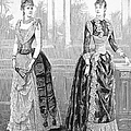 Womens Fashion, 1889. For Licensing Requests Visit Granger.com by Granger