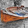 Wood Boat by Mats Silvan