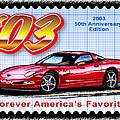 2003 50th Anniversary Edition Corvette by K Scott Teeters