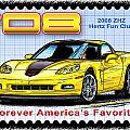 2008 Zhz Hertz Fun Club Corvette by K Scott Teeters