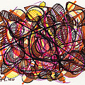 2010 Abstract Drawing 24 by Lynne Taetzsch