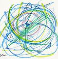 2012 Drawing #11 by Lynne Taetzsch
