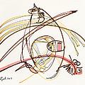 2012 Drawing #7 by Lynne Taetzsch