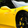 2012 Ferrari 458 Spider  by Paul Ward