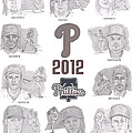 2012 Phightin' Phils by Chris  DelVecchio