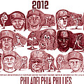 2012 Philadelphia Phillies by Chris  DelVecchio