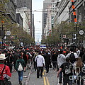2012 San Francisco Giants World Series Champions Parade Crowd - Dpp0002 by Wingsdomain Art and Photography