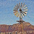 Water Pump Windmill by Werner Lehmann
