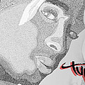 2pac Text Picture by Aaron Parrill