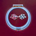 1967 Chevrolet Corvette Emblem by Jill Reger