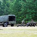 A Belgian Artillery Unit Setting by Luc De Jaeger