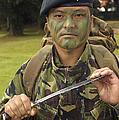 A British Army Gurkha by Andrew Chittock