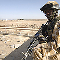 A British Army Soldier Provides by Andrew Chittock