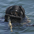 A Navy Seal Combat Swimmer by Michael Wood