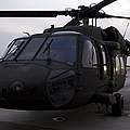 A Uh-60 Black Hawk Helicopter by Terry Moore