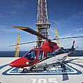 Agustawestland Aw109e Utility by Terry Moore