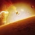 Alien Planet, Artwork by Detlev Van Ravenswaay