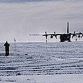 Antarctic Airfield by David Vaughan