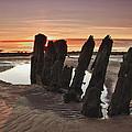 Ardrossan Sunset by Fiona Messenger