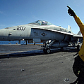 Aviation Boatswains Mate Directs by Stocktrek Images