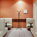 Cafe Dining Room by Magomed Magomedagaev