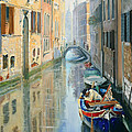 Canals Of Venice  by Larisa Napoletano