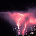Cloud-to-ground Lightning by Science Source