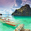 Coron Lagoon by MotHaiBaPhoto Prints