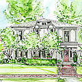 Custom House Rendering by Lizi Beard-Ward