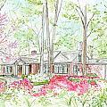 Custom House Rendering Sample by Lizi Beard-Ward