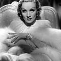 Desire, Marlene Dietrich, 1936 by Everett
