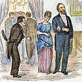 Election Cartoon, 1877 by Granger