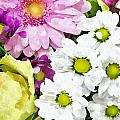 Flowers For The Girlfriend by Aleksandr Volkov