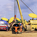 Gas Line Construction by David Nunuk