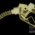 Gas Nozzle, X-ray by Ted Kinsman