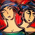 Girls by Mark Kazav