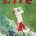 Golfing: Magazine Cover by Granger