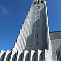 Hallgrimskirkja Church - Reykjavik Iceland  by Gregory Dyer